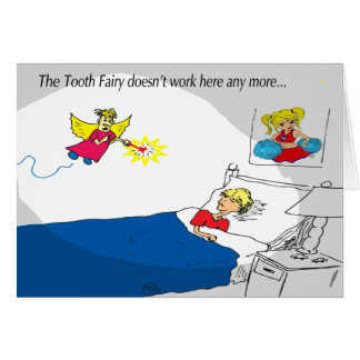 I'm not the Tooth Fairy I'm the Pimple Fairy Greeting Card