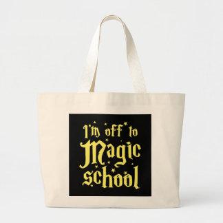 I'm off the Magic school Jumbo Tote Bag