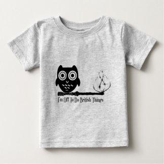 I'm off to do british things baby T-Shirt