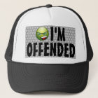 I'm Offended Angry Smiley Bubble Wrap Trucker Hat