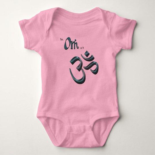 I'm Om-ish Om Symbol Aum Buddhist/Hindu Symbol Baby