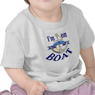 I'm on a Boat funny baby vacation cruise tee