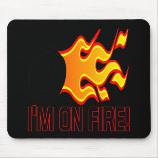Im On Fire Mouse Mat
