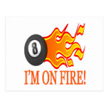 Im On Fire Post Card