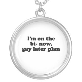 I'm on the bi now gay later plan .png jewelry