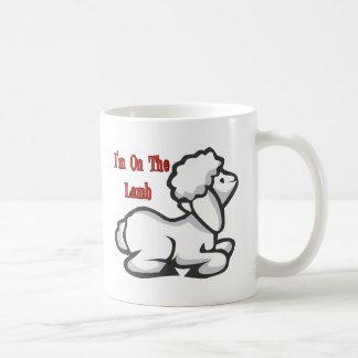 I'm On The Lamb Basic White Mug