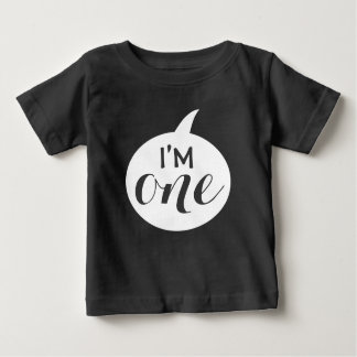 """I'M One"" 1st Birthday Baby Baby T-Shirt"