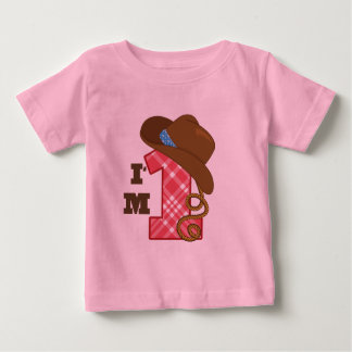Im One Cowboy Birthday T Shirts