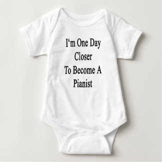 I'm One Day Closer To Become A Pianist Baby Bodysuit