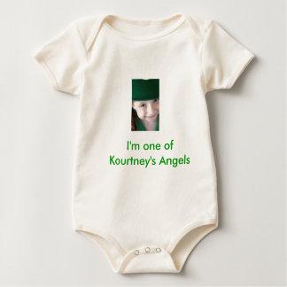 I'm one of Kourtney's Angels - Customized Baby Bodysuit