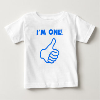 I'm One Thumbs Up Baby T-Shirt
