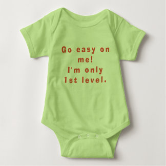 I'm only first Level Baby Bodysuit