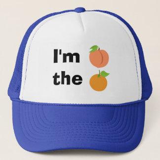 I'm peach the orange cap
