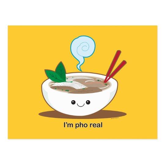 I'm Pho Real Postcard