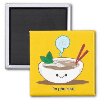 I'm Pho Real Square Magnet