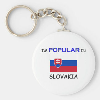 I'm Popular In SLOVAKIA Key Ring