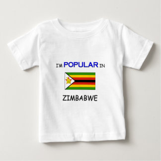 I'm Popular In ZIMBABWE Baby T-Shirt