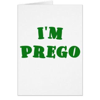 Im Prego Greeting Card