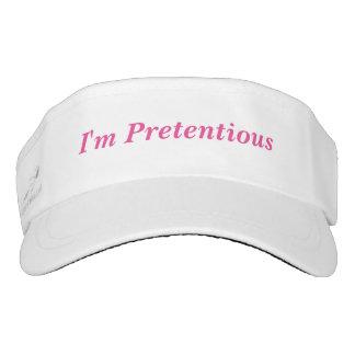I'm Pretentious Visor