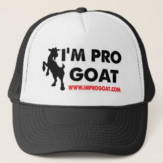 I'm Pro Goat Trucker Hat