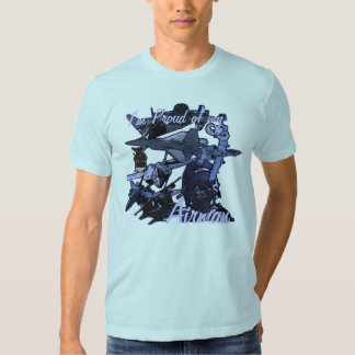 I'm Proud of my, Airman, Air Force Dad Tshirts