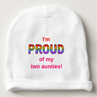 I'm PROUD of my two aunties! Baby Beanie