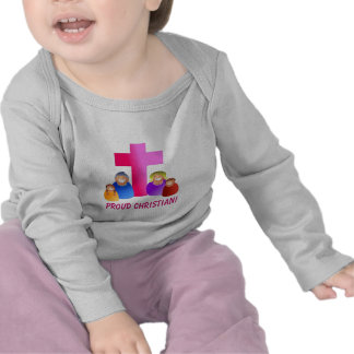 I'm Proud To Be A Christian- Toddler Long Sleeve T-shirt
