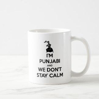 I'm Punjabi and We Don't Keep Calm Basic White Mug