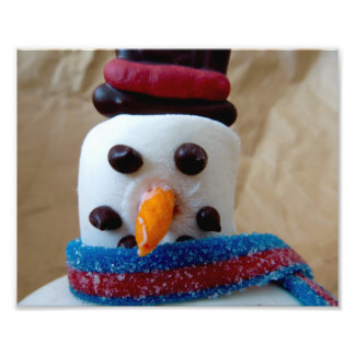 """""""I'm Ready for My Close-up"""" — Mr. Snowman Photograph"""