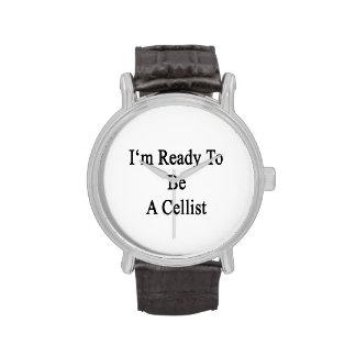 I'm Ready To Be A Cellist Wristwatch