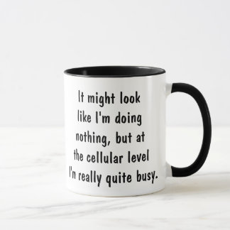 I'm really quite busy mug