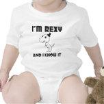 I'm Rexy And I Know It Baby Bodysuit