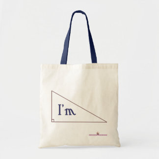 I'm right! budget tote bag