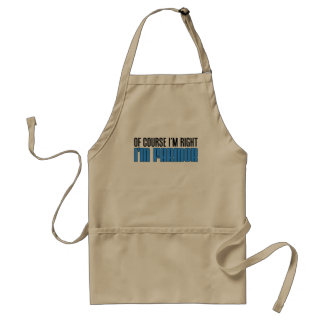 I'm Right I'm Farmor Standard Apron
