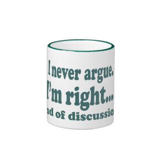 I'm Right Ringer Mug