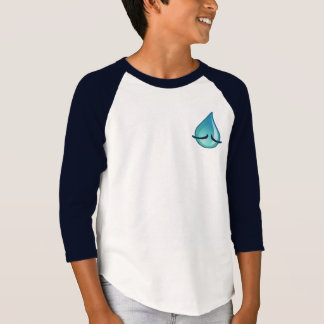 I'm Sad Kids navy Raglan T-shirt