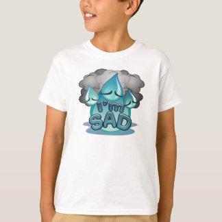 I'm Sad Kids white T-shirt