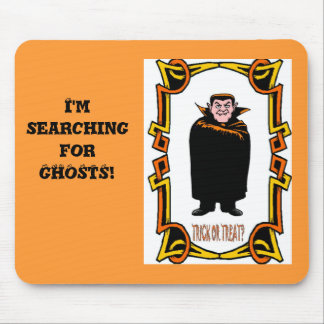 I'm searching for ghosts mousepad