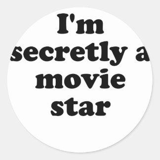 Im Secretly a Movie Star Stickers