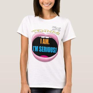 I'm Serious Tennis Women's Basic T-Shirt