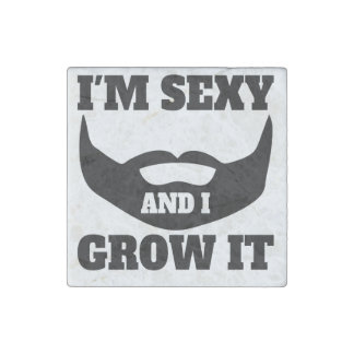 I'm Sexy And I Grow It Stone Magnet