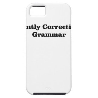 I'm Silently Correcting Your Grammar M.png iPhone 5 Case
