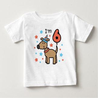 I'm Six Doggie Infant T-Shirt
