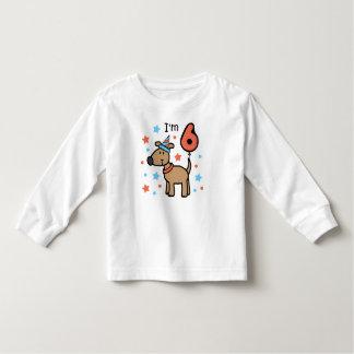I'm Six Doggie T Shirts