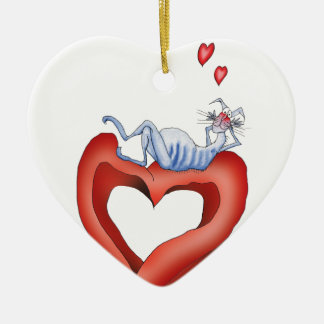 i'm so blue without you, tony fernandes ceramic heart decoration