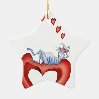 i'm so blue without you, tony fernandes christmas ornament