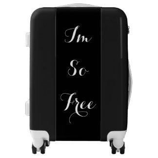 I'm So Free Carry-On Luggage Bag