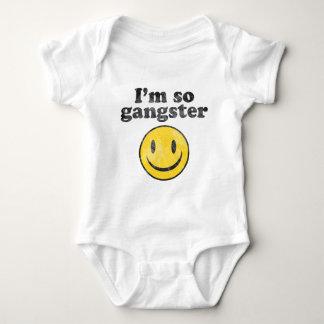 I'm So Gangster Smiley Baby Bodysuit