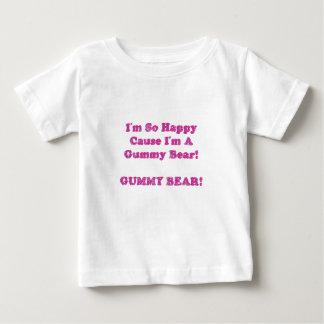 I'm So Happy Cause I'm A Gummy Bear! Baby T-Shirt