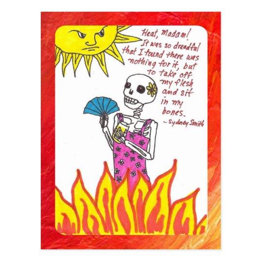 I'm So Hot Postcard